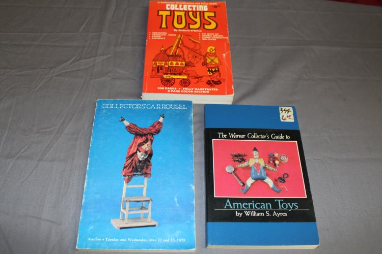 lot of 3 guides to Toy Collecting