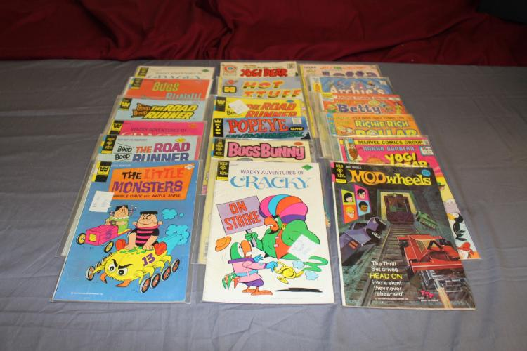 Gold Key & others lot of 18 comics, non Super Hero, nice