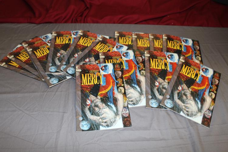 lot of 15 near mint TPB's, Mercy, 1993, DC Vertigo Mature Readers
