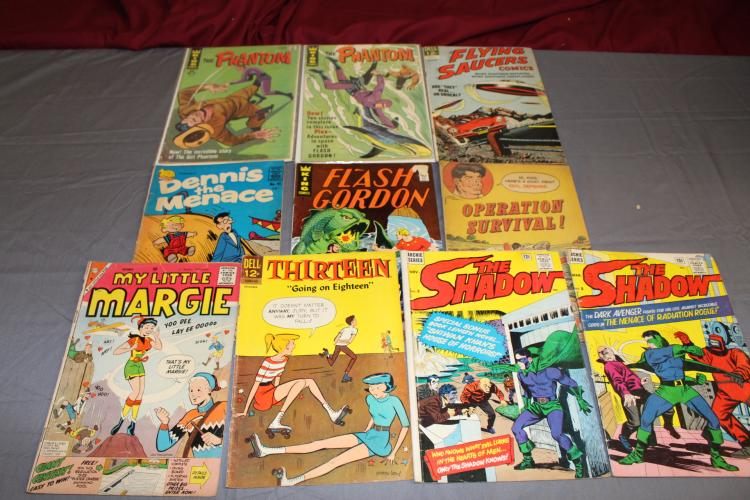 Misc. Gold and Silver age comic lot of 10