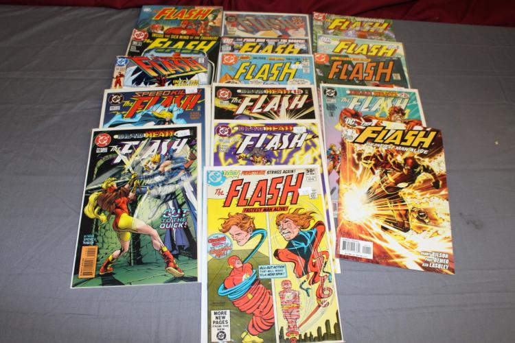 lot of 16 DC Flash comics including large TPB