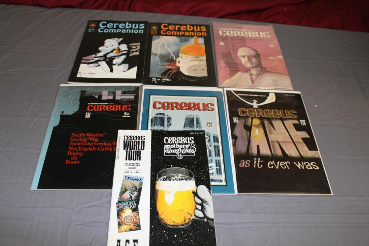 Cerebus comics lot of 7