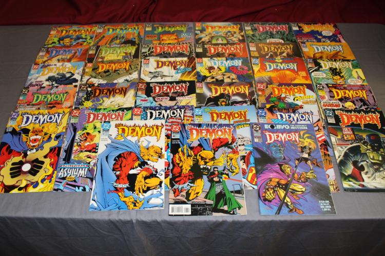 lot of 33 The Demon comics, DC 1990, very fine to mint includes #1