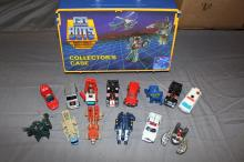 Go Bots Night Robots Mighty Vehicles with case