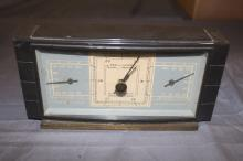 Vintage Airguide Instrument Company Chicago Barometer, Temperature and Humidity