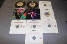 Lot of 10 Prince 45's most have never been played