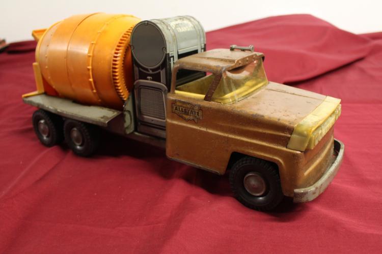 Marx Sears Allstate Cement Mixer Truck