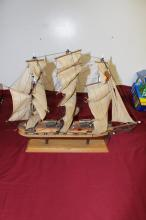 Model Ship The President Frigate year 1800