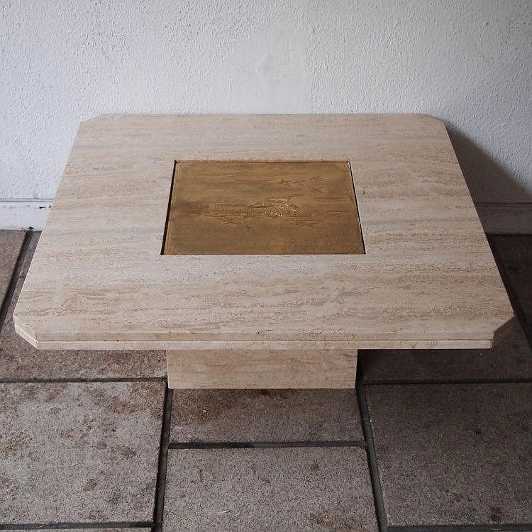 designo maho table basse vers 1970. Black Bedroom Furniture Sets. Home Design Ideas