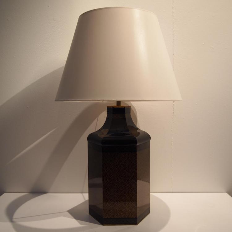 lampe d 39 ambiance vers 1970. Black Bedroom Furniture Sets. Home Design Ideas