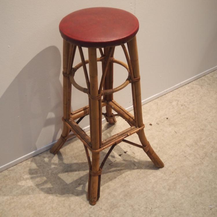 tabouret de bar vers 1950. Black Bedroom Furniture Sets. Home Design Ideas
