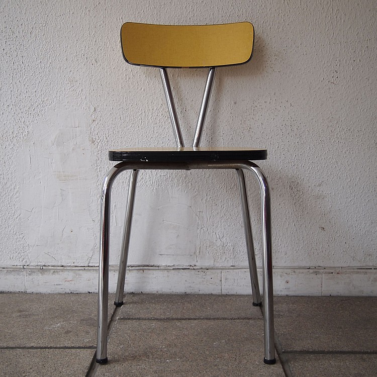 Suite de 4 chaises de cuisine vers 1950 - Chaises de cuisine ...