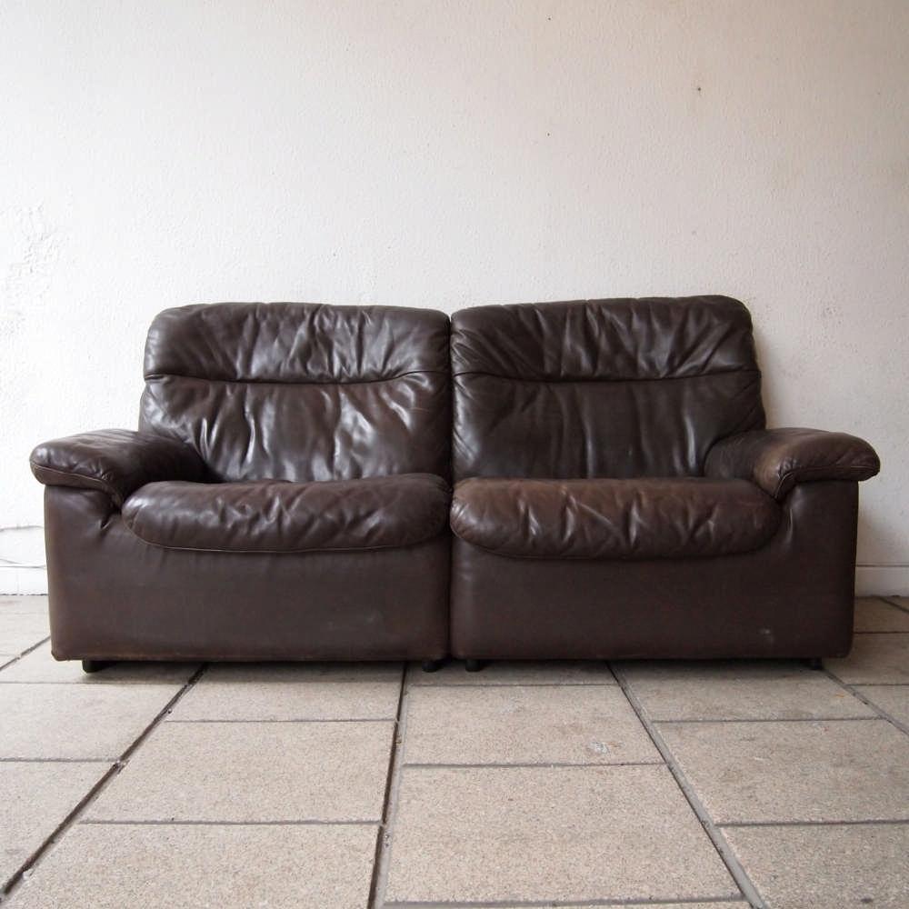 de sede canap 2 places design vers 1970 mod le ds66 ch. Black Bedroom Furniture Sets. Home Design Ideas
