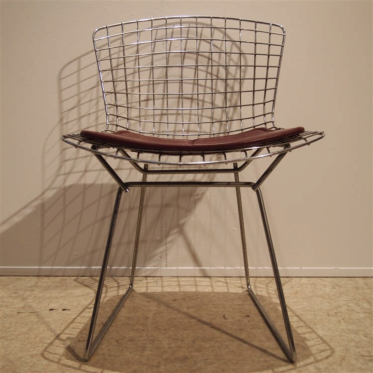 Bertoia harry 1915 1978 knoll chaise mod le whire de for Chaise bertoia knoll
