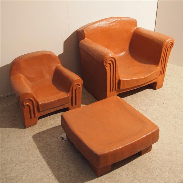 olga lot de 3 pi ces fauteuil de jardin table basse des