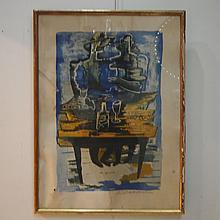 Zadkine Ossip (1890-1967) :