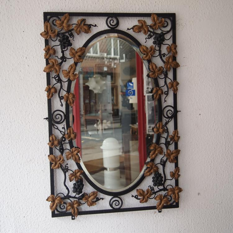 miroir art d co