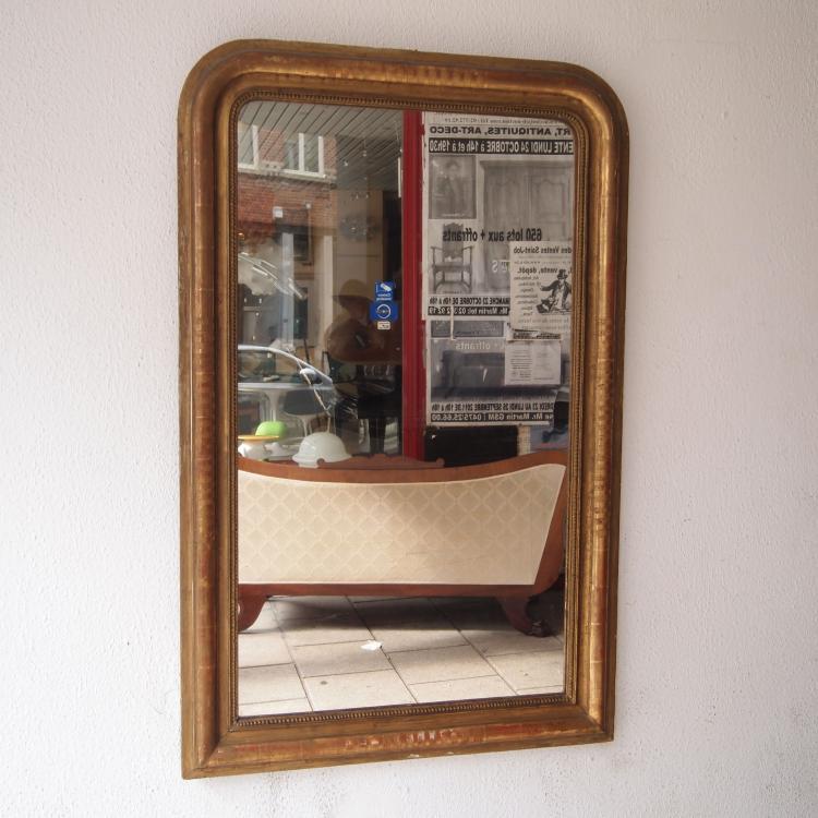 miroir de chemin e louis philippe 19es. Black Bedroom Furniture Sets. Home Design Ideas