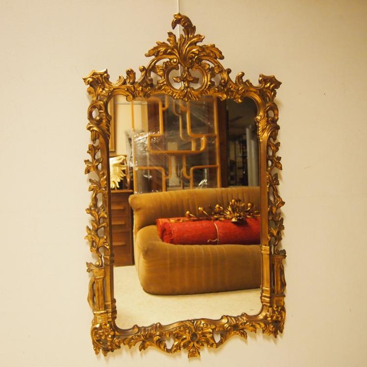 miroir style louis xiv vers 1960