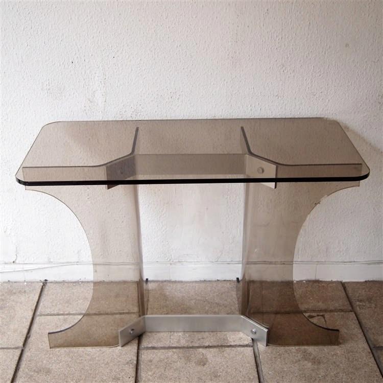 console altuglass fum cintr entretoise et ceinture en a. Black Bedroom Furniture Sets. Home Design Ideas