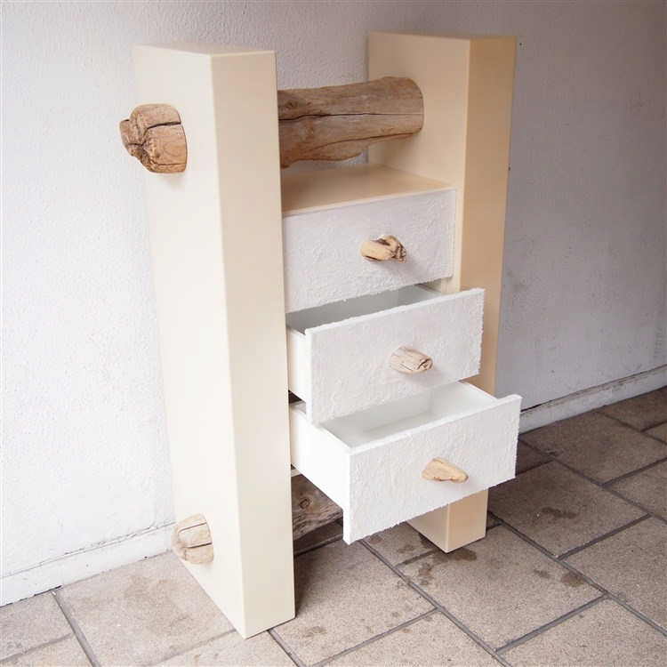 nature bleu meuble de rangement corps en mdf laqu beige. Black Bedroom Furniture Sets. Home Design Ideas