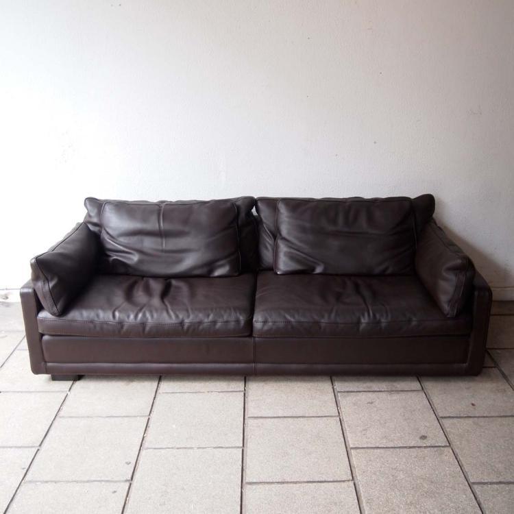 Roche bobois - Chaise cuir roche bobois ...