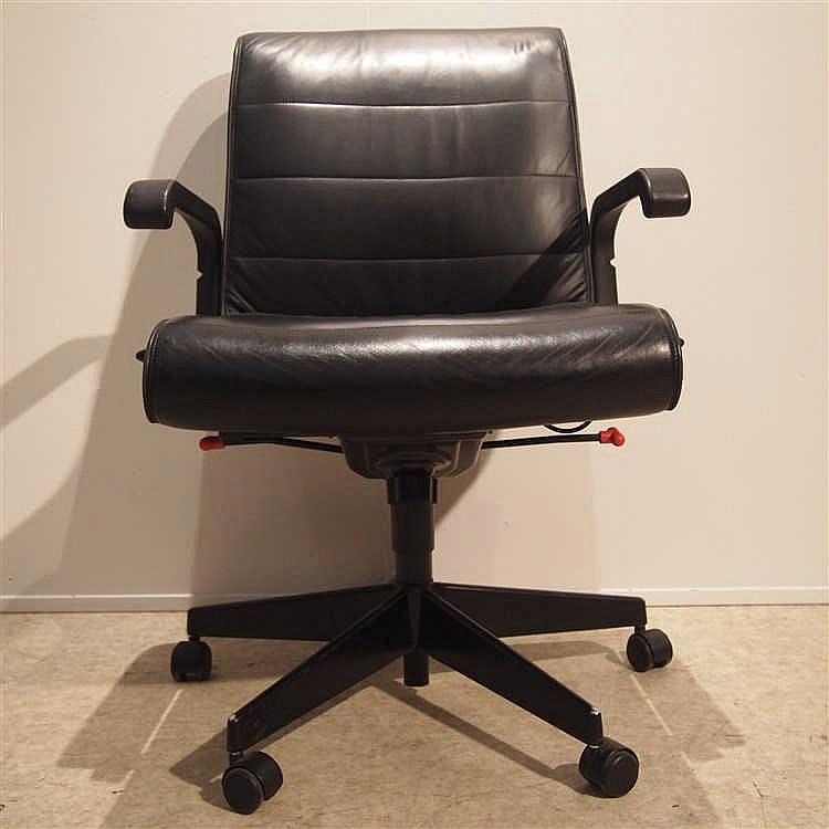 sapper richard 1932 2015 knoll fauteuil de bureau str. Black Bedroom Furniture Sets. Home Design Ideas