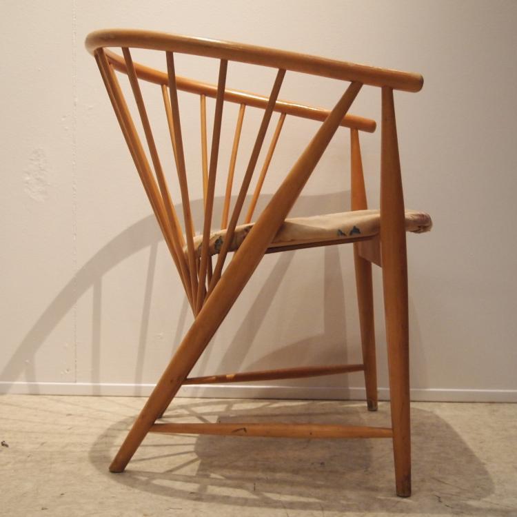 sonna rosen fauteuil su dois design vers 1951. Black Bedroom Furniture Sets. Home Design Ideas