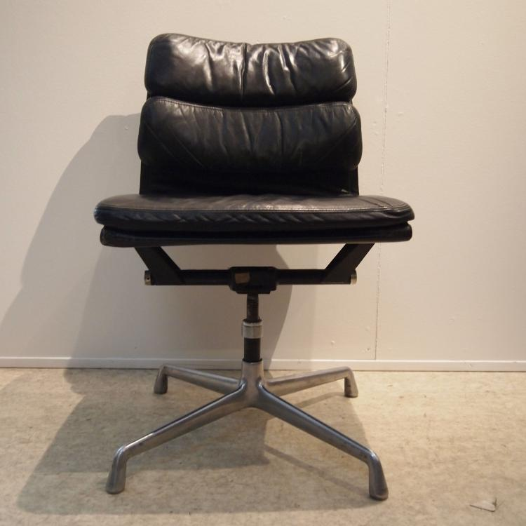 eames charles ray herman miller chaise visiteur
