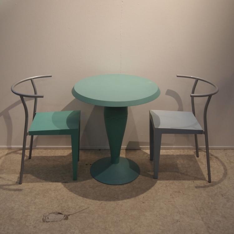 Starck philippe kartell table gu ridon for Philippe starck tables