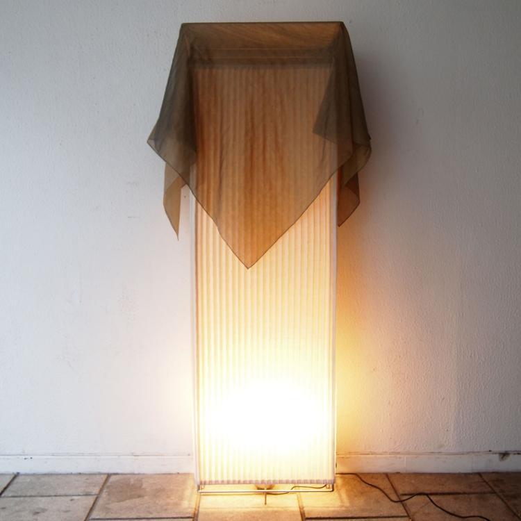 ceccotti collection lampe de sol avec d mer vers 1990. Black Bedroom Furniture Sets. Home Design Ideas