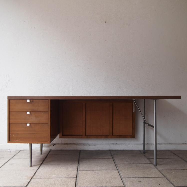 nelson georges herman miller bureau plat. Black Bedroom Furniture Sets. Home Design Ideas