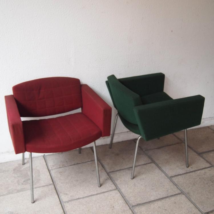 guariche pierre 1926 1995 steiner 2 fauteuils bridge v. Black Bedroom Furniture Sets. Home Design Ideas