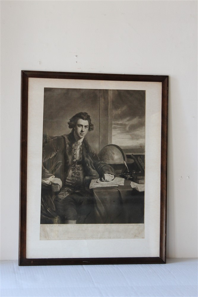 Portrait of sir joseph banks for Fine art gallery online