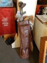 Set of Vintage Golf Clubs