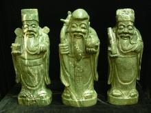 Set Of Jade 3 Wise Men