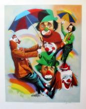 Chuck Oberstein Rainbow Riders Clowns