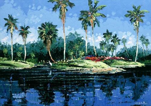 Blue Lagoon 24x32