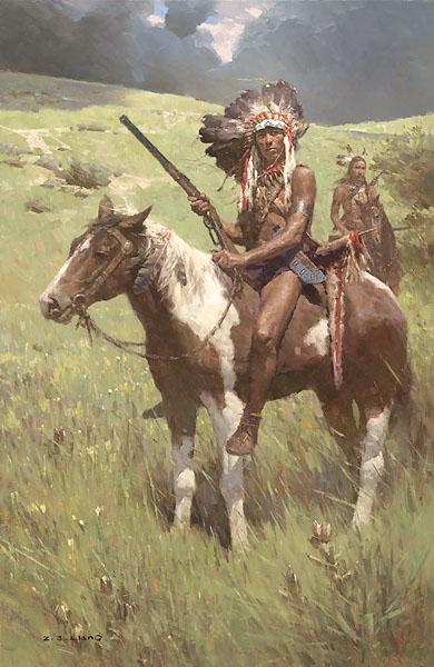 Z.S. Liang Little Big Horn, June 25, 1876