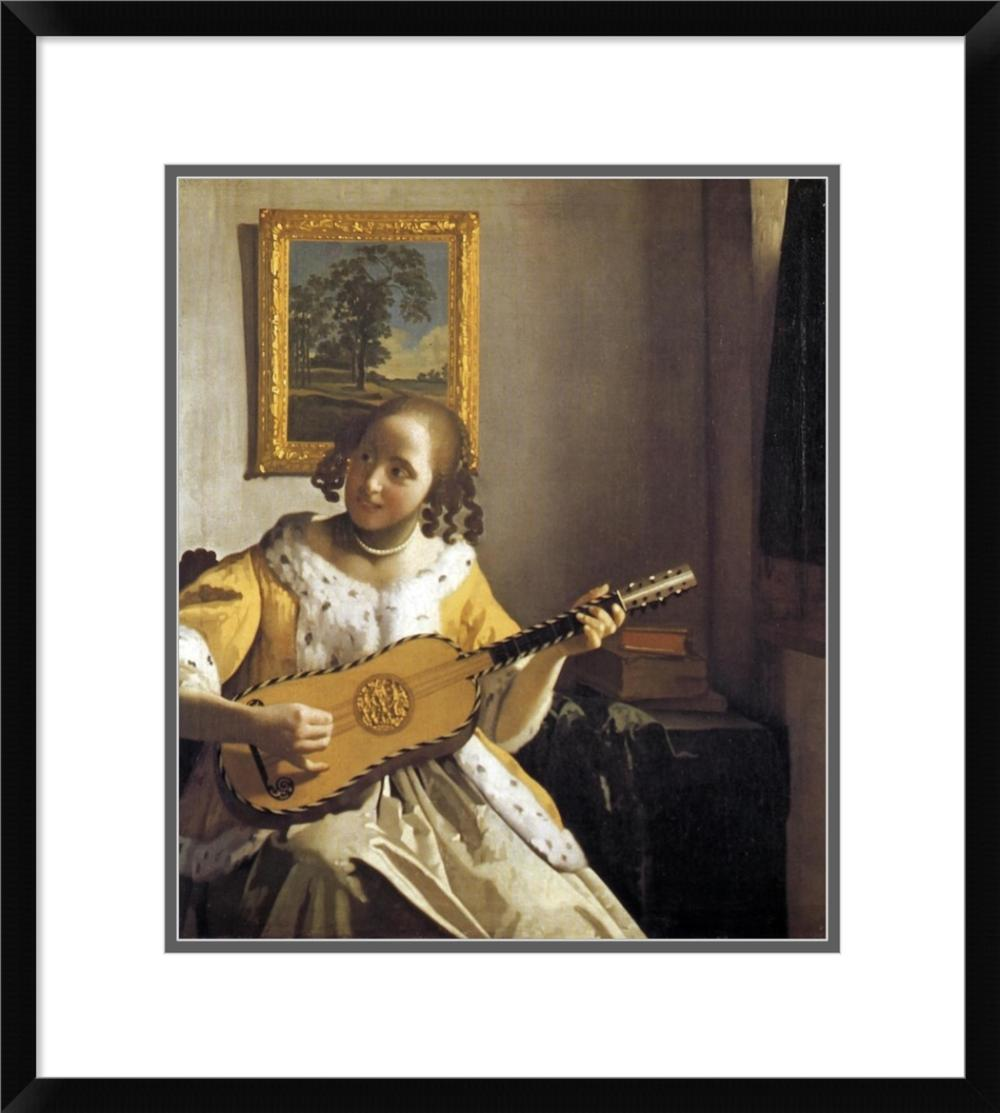 JOHANNES VERMEER - THE GUITAR PLAYER
