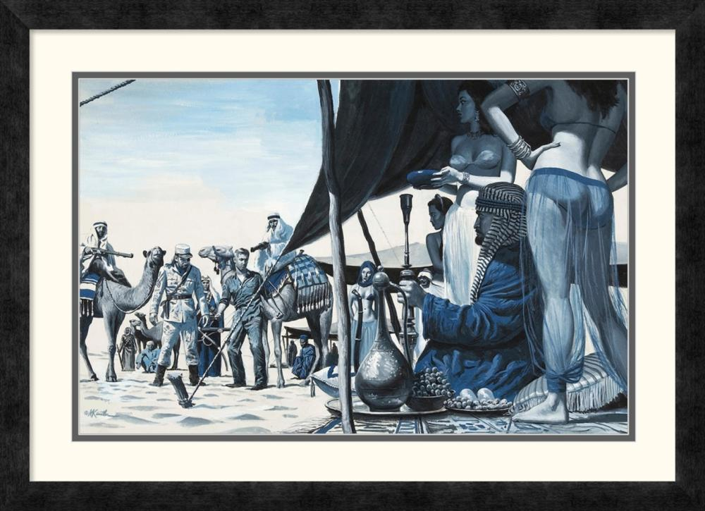 Mort Kunstler - The Yank Who Fouled Up Rommel's Desert Assault