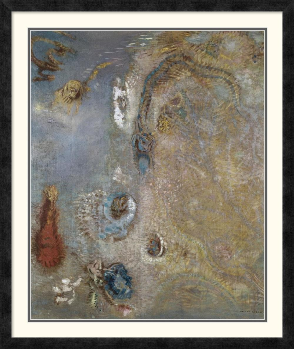 ODILON REDON - ABSTRACT FANTASY