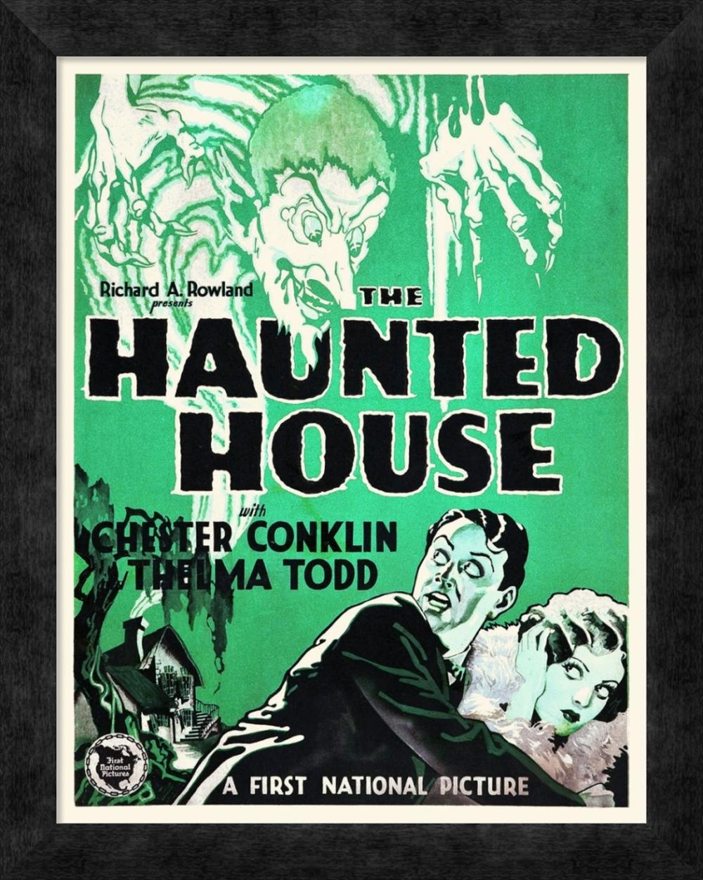 HOLLYWOOD PHOTO ARCHIVE - THE HAUNTED HOUSE