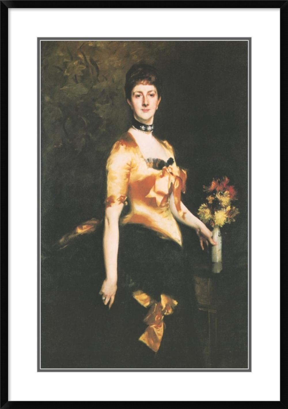 JOHN SINGER SARGENT - EDITH LADY PLAYFAIR, NéE EDITH RUSSELL, 1884