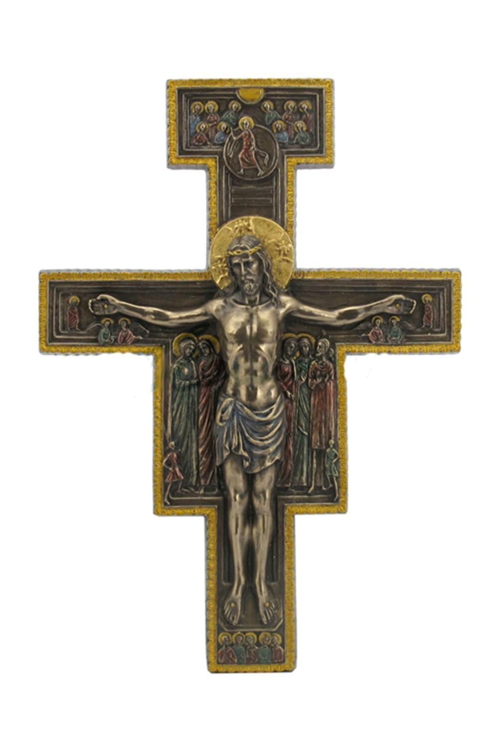 The San Damiano Crucifix Wall Plaque