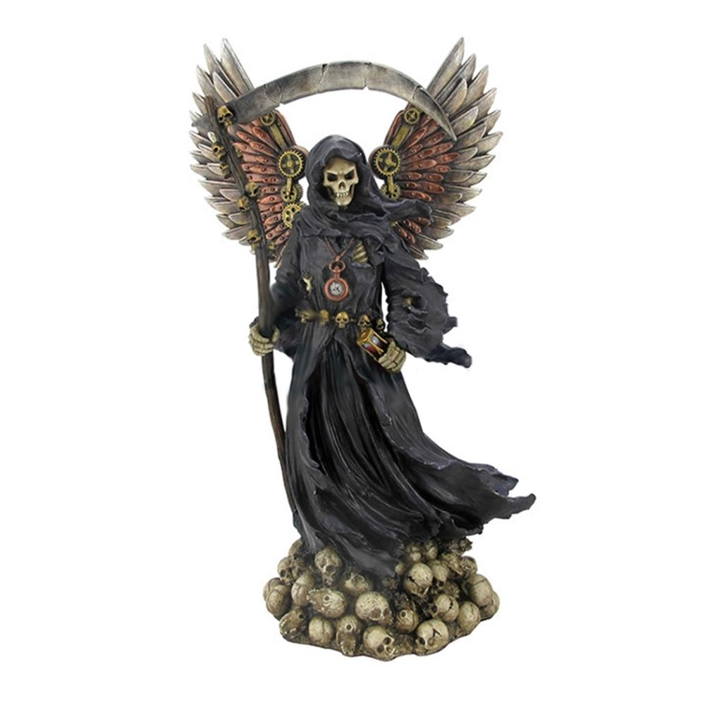 Winged Steampunk Grim Reaper