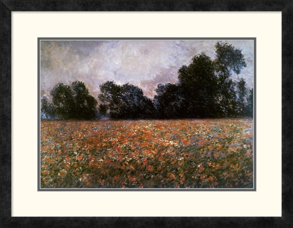 CLAUDE MONET - FIELD OF WILD POPPIES