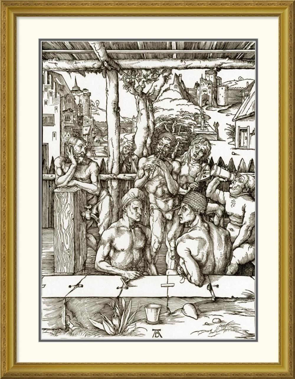 ALBRECHT DURER - THE MENS BATH