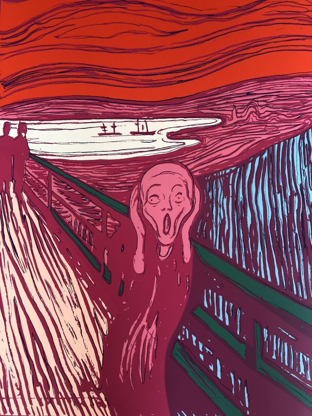 "Edvard Munch ""The Scream"" Pink"