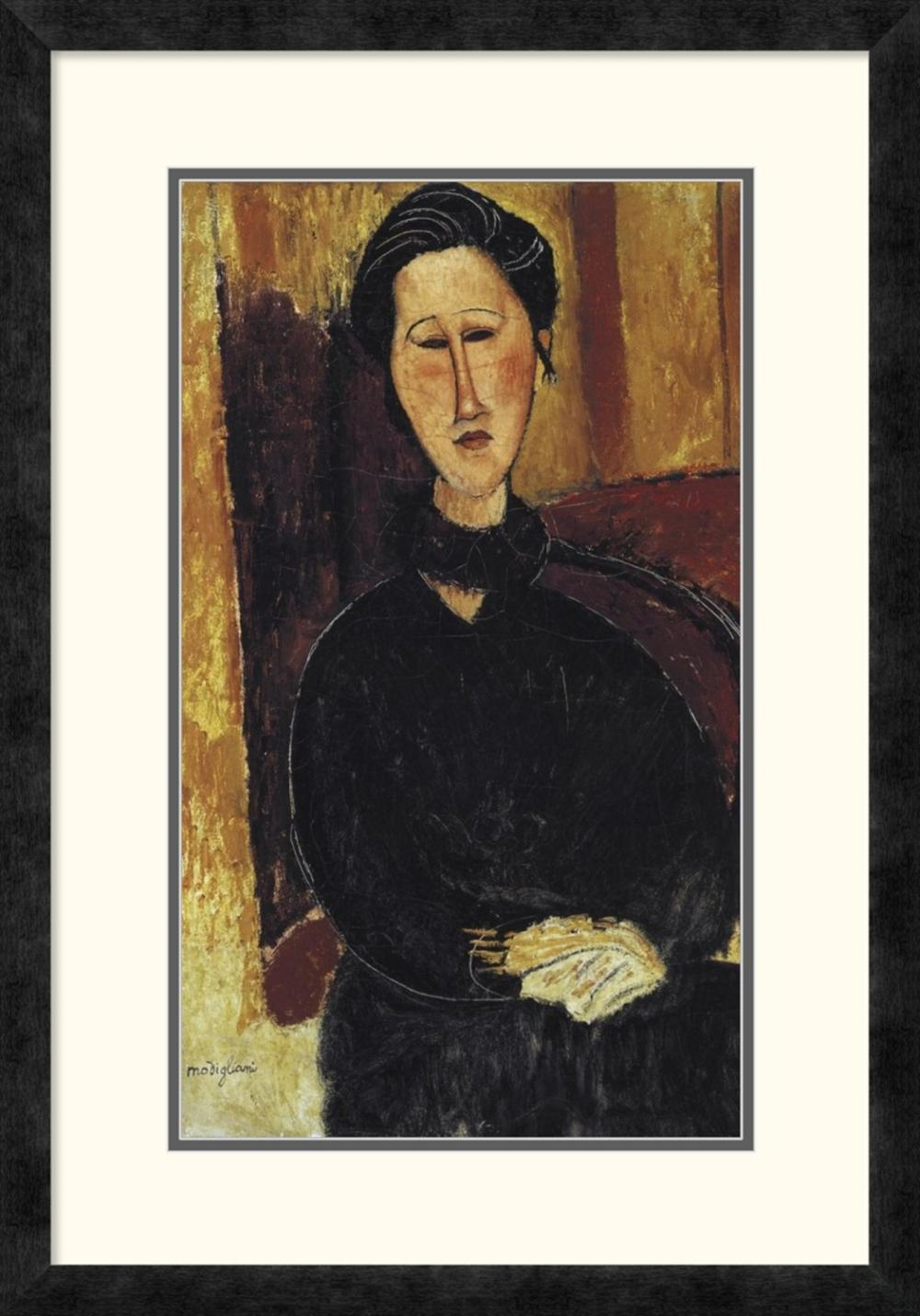 AMEDEO MODIGLIANI - PORTRAIT OF ANNA ZBOROWSKA